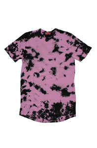 PINK ACID WASH TSHIRT