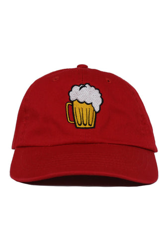 CHEERS RED DAD HAT