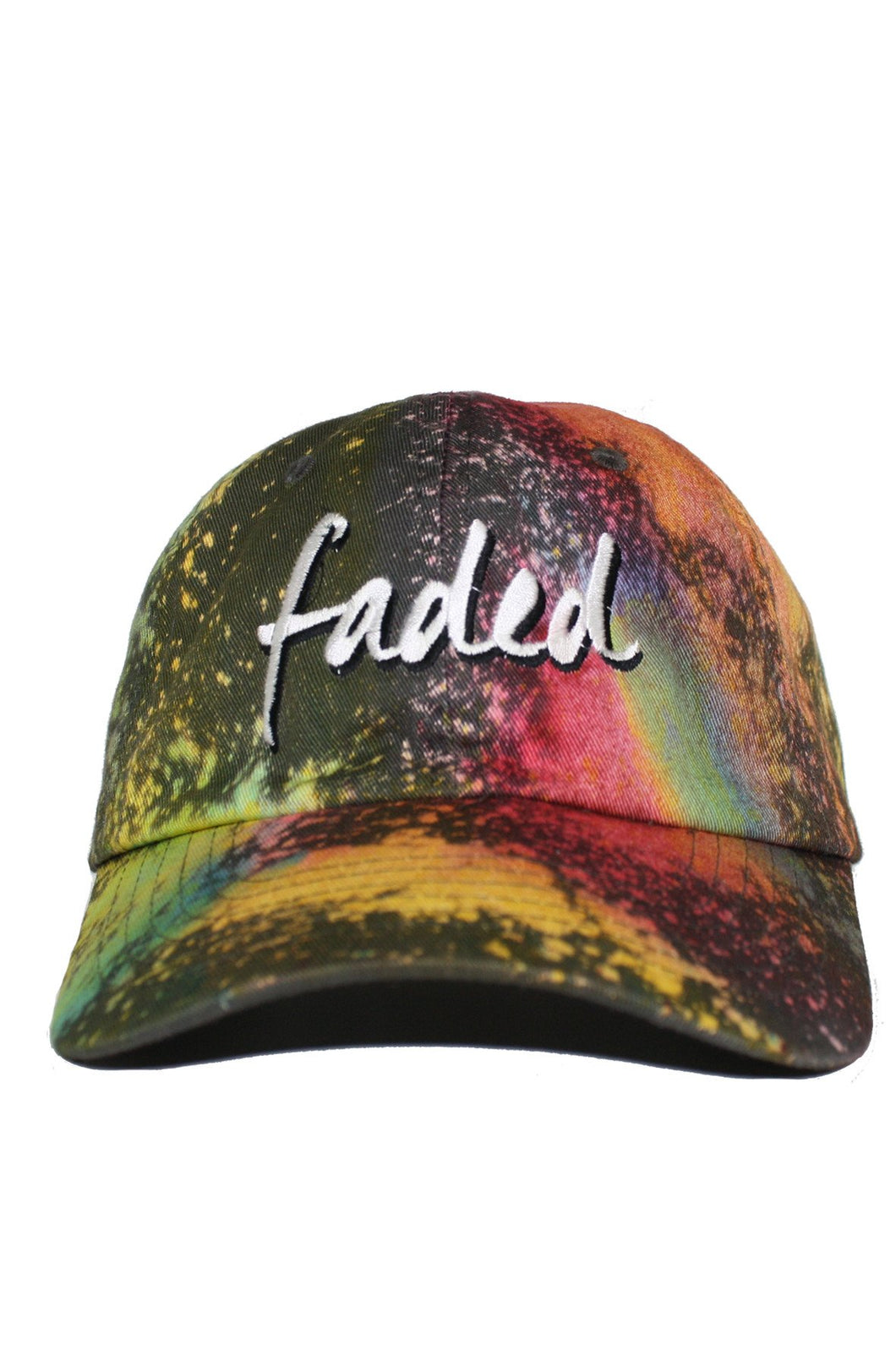 FADED TYE DYE DAD HAT