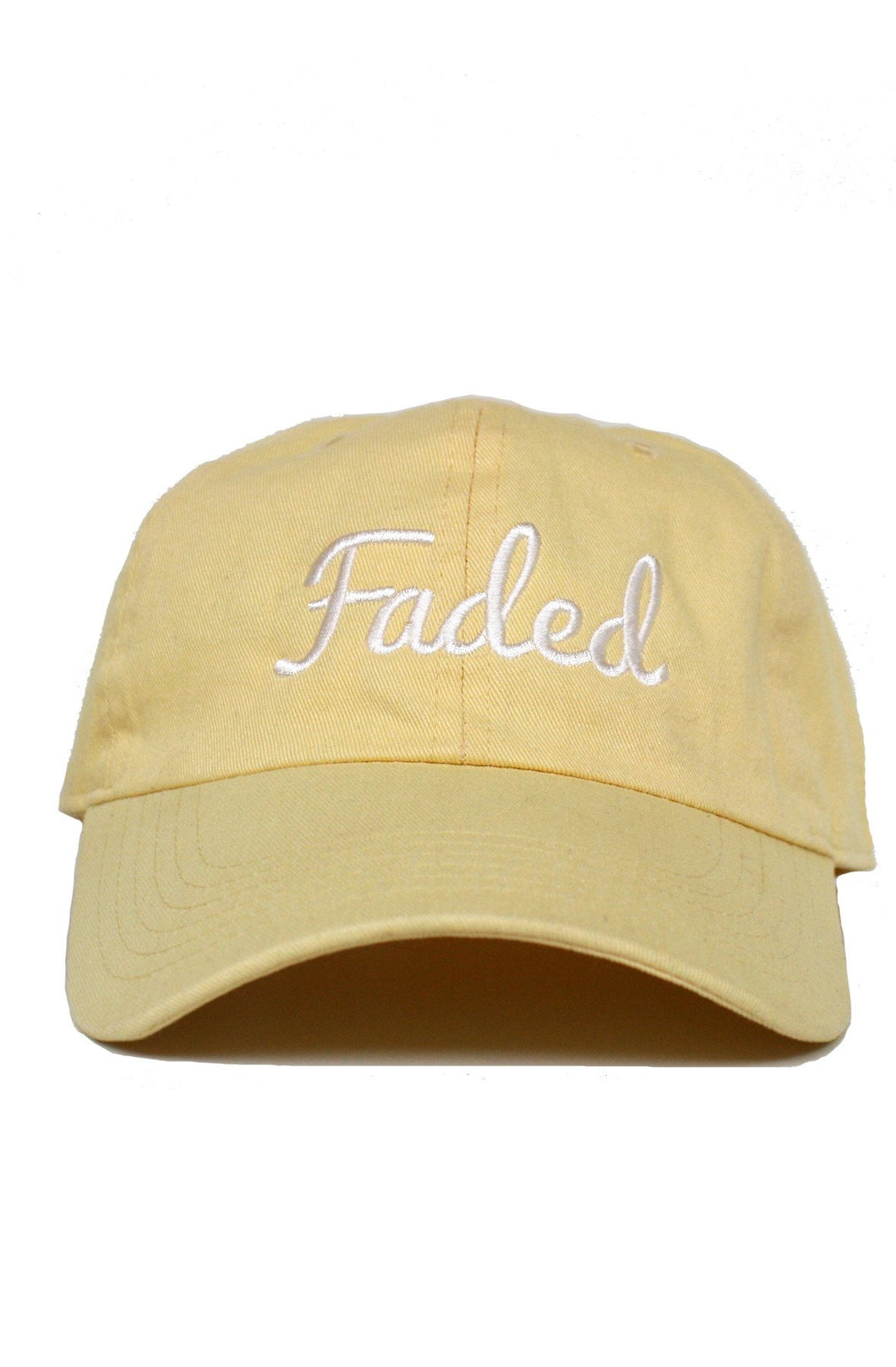 FADED SCRIPT - BANANA DAD HAT