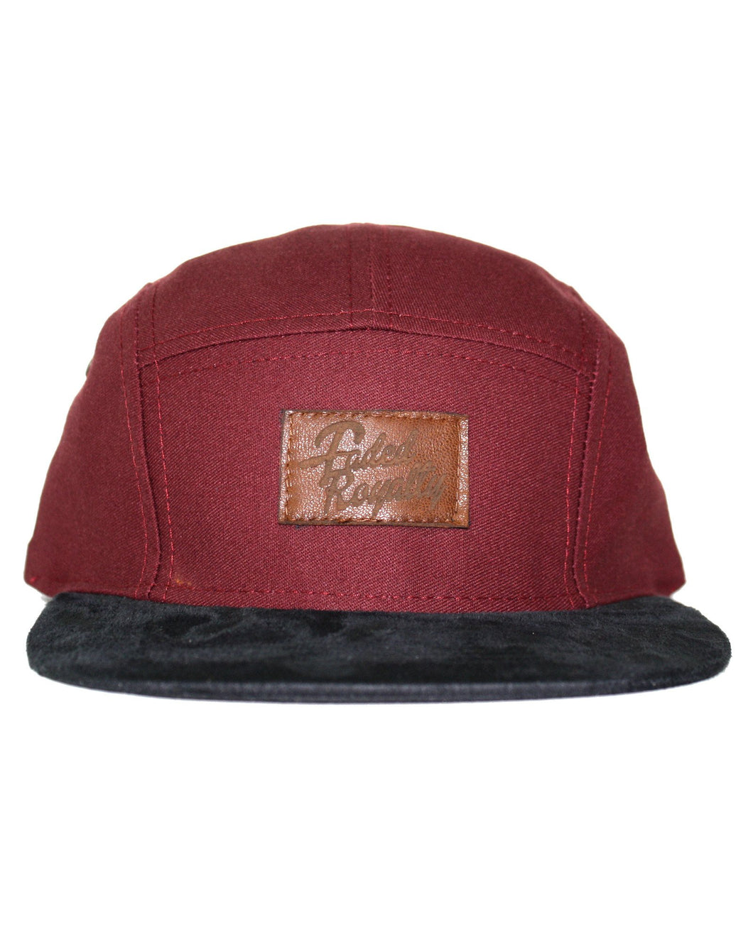 MAROON / LEATHER 5 PANEL