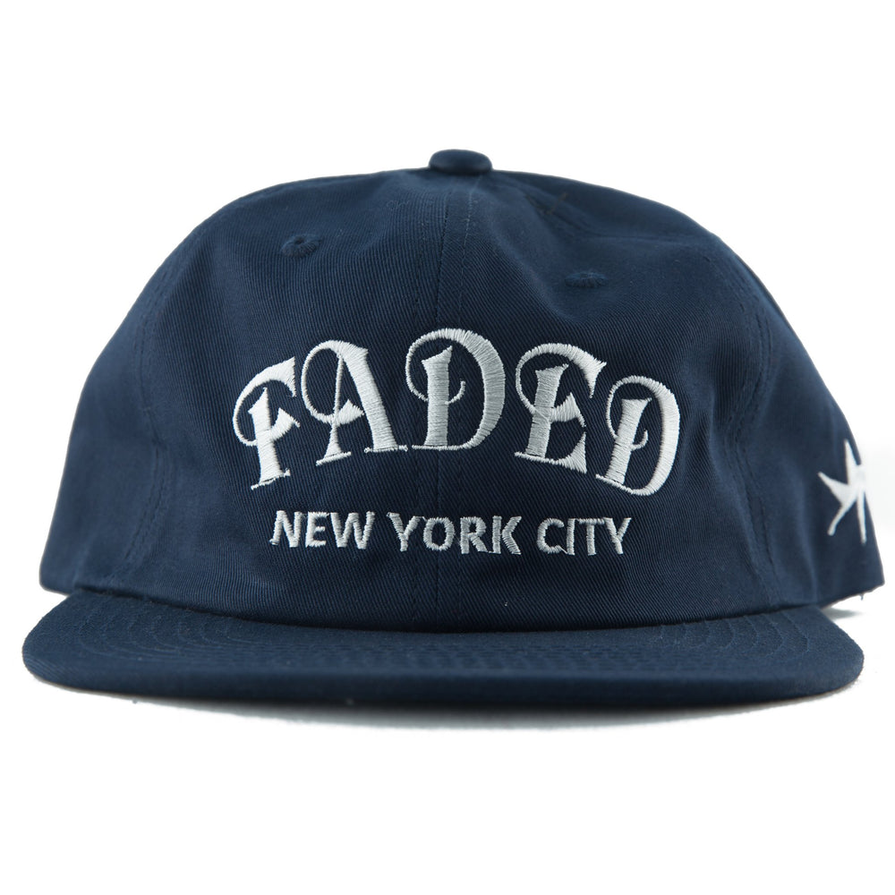 Unconstructed 6 Panel HATS FADED ROYALTY