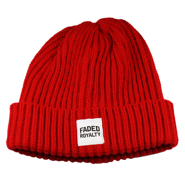Woven Beanie BEANIES FADED ROYALTY