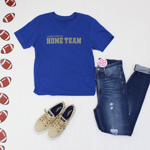 Cheer For The Home Team - Blue