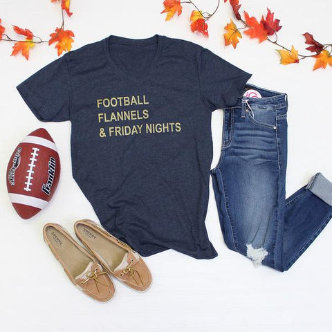 Football, Flannels, Friday Nights Tee