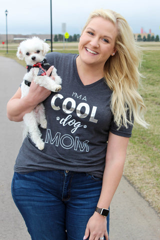 I'm A Cool Dog Mom Tee