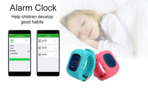TrackSmart Kids Smart GPS Watch Tracker Phone Calling SOS Device