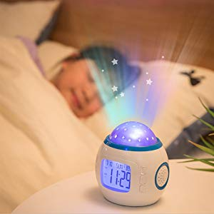 alarm clock, digital clock, kids alarm clock, light alarm clock