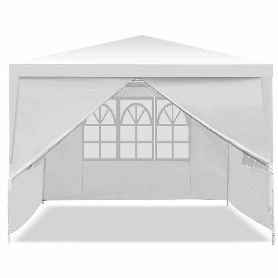 10'x10' Canopy Party Wedding Tent Heavy Duty Outdoor Gazebo