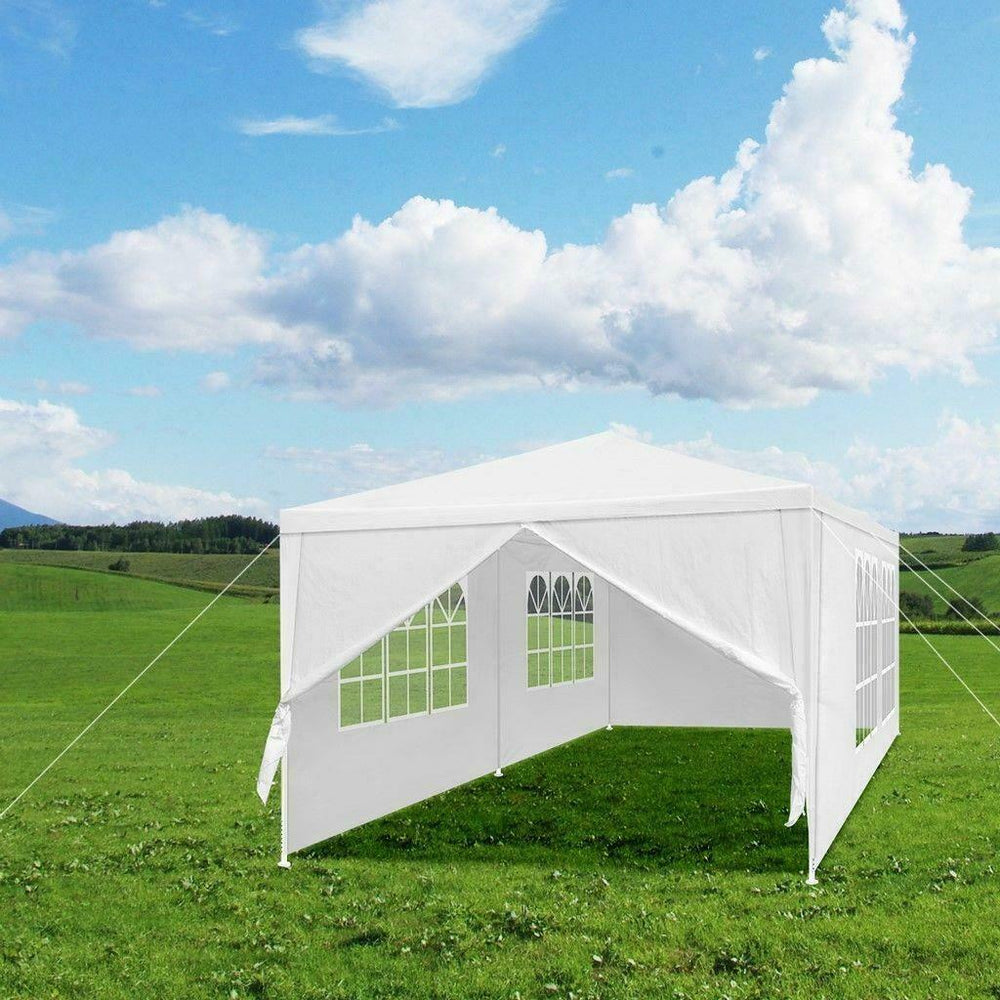 10'x 20' Party Tent Outdoor Pavilion Event Gazebo Wedding Canopy 6 Side Walls