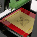 JustLaze Laser Engraving Machine for Etching Wood, Plastic, 3D, Leather and more