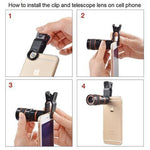 ThinkZoom™ 12x Zoom Telephoto HD Camera Lens for iPhone, Samsung and Android Smartphones - CartUp.com
