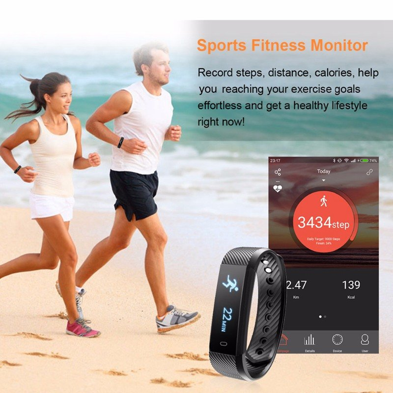 ThinkBand™ Fitness Tracker Smart Watch Mini - CartUp.com