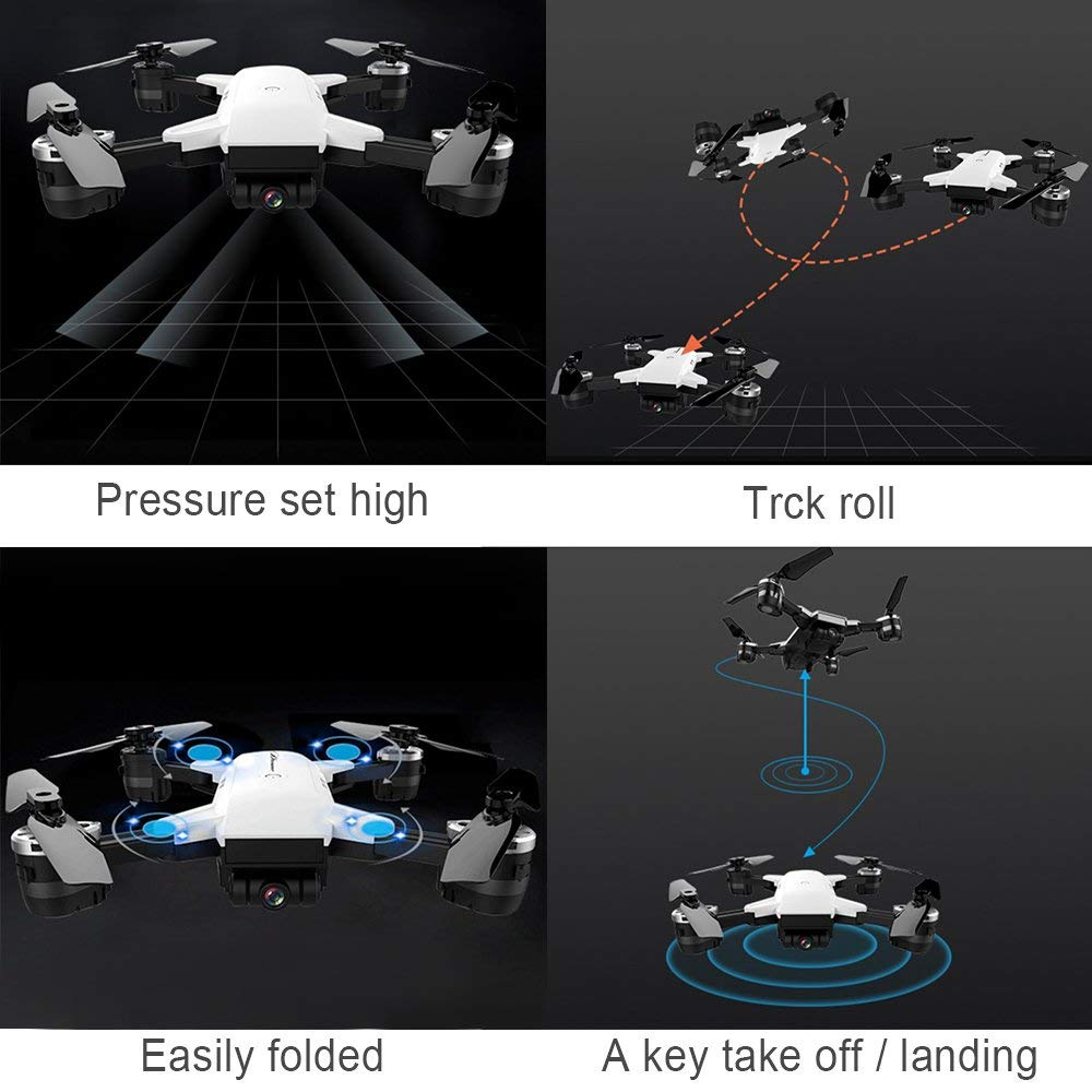 White Eagle Foldable Drone - CartUp.com