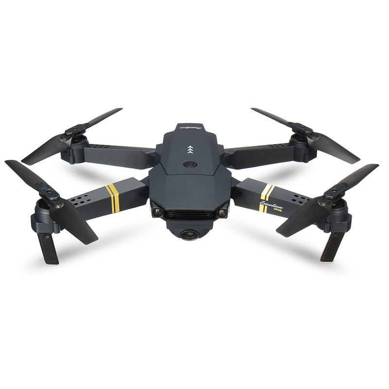Skyhawk HD Foldable Air Selfie Drone With Camera - 2MP & 2 Battery Version - CartUp.com