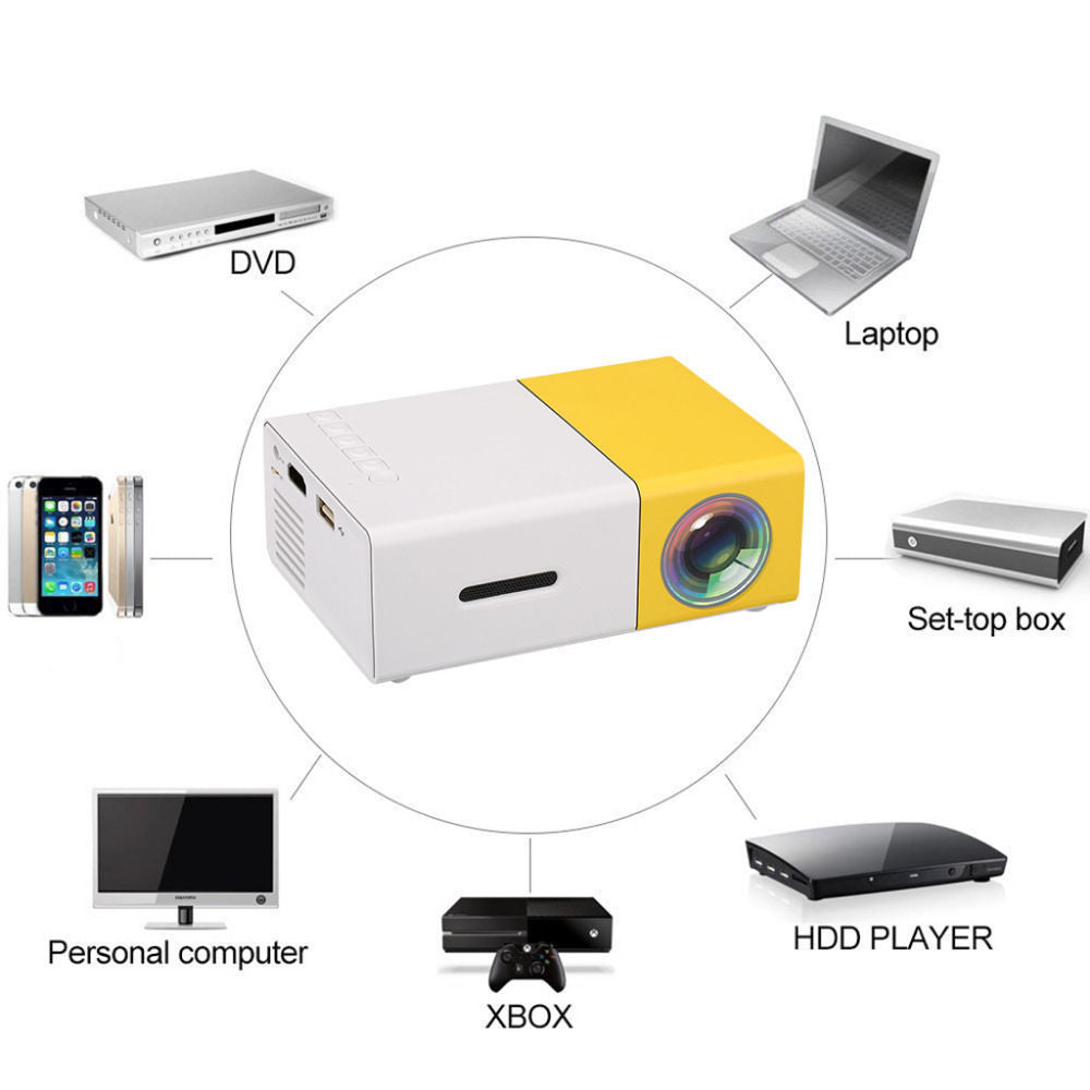 LED HD Portable Mini Projector - CartUp.com