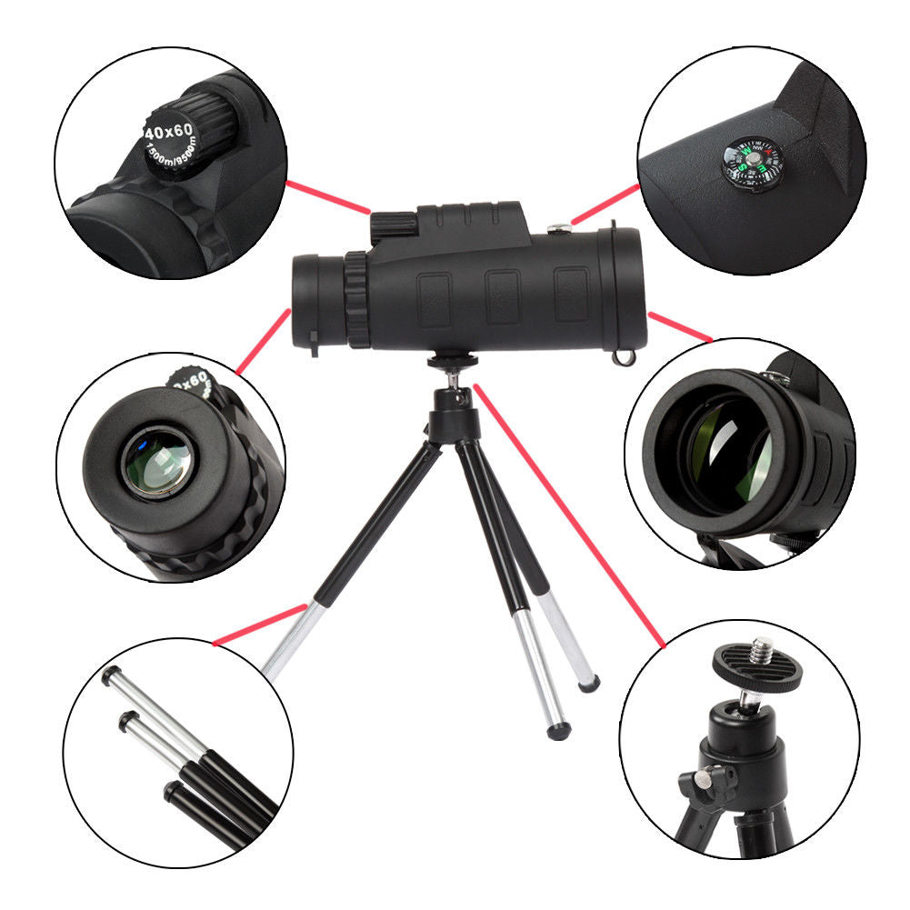 ThinkZoom™ 40x Zoom Telephoto Lens for Phone - CartUp.com