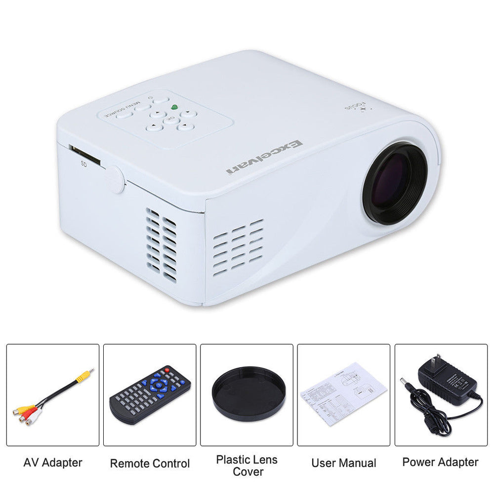 iProjector LED HD Portable Mini Projector - CartUp.com