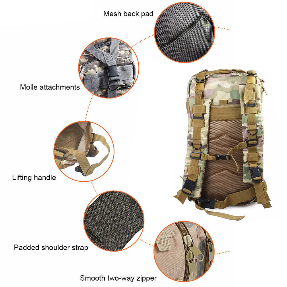 Rucksacks Backpack for Camping and Hiking - 30L - CartUp.com