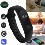 ThinkBand™ Intelligence Slim Smart Wristband Watch - CartUp.com