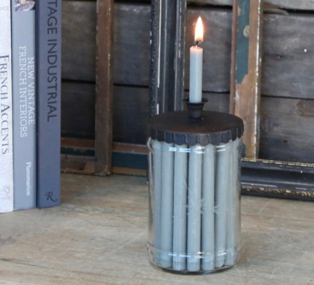 Scandi Candlehder - Taper Candles