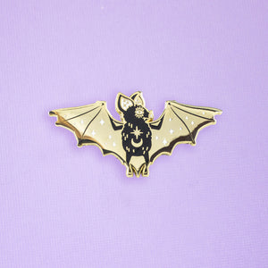 Mystic Bat Enamel Pin
