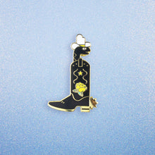 Snake in a Boot Enamel Pin