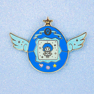 Sailor Mercury Pet Enamel Pin