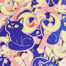 Moon Kitty Vinyl Sticker Pack