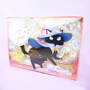 Stella the Witch Acrylic and Wood Cut Desk Toy