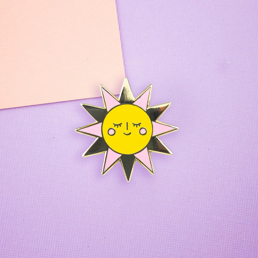 Happy Sunshine Enamel Pin