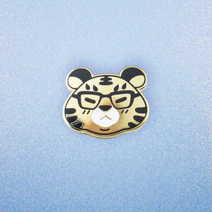 Shine Bright, Tiger Enamel Pin