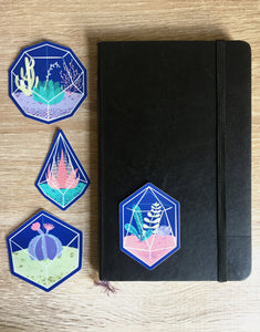 Terrariums Vinyl Sticker Pack