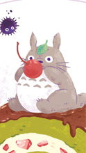 Sweet Tooth Totoro 11x14 Giclee Print