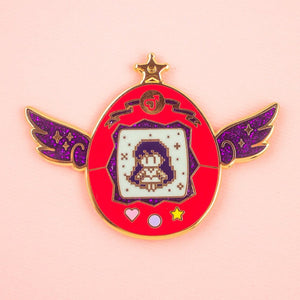 Sailor Mars Pet Enamel Pin