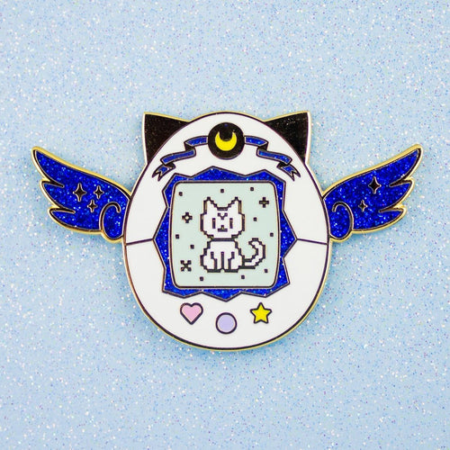 Artemis Pet Enamel Pin