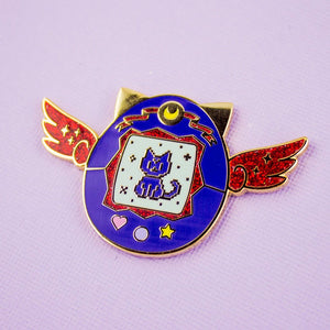 Luna Pet Enamel Pin