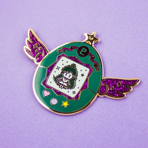 Sailor Pluto Pet Enamel Pin