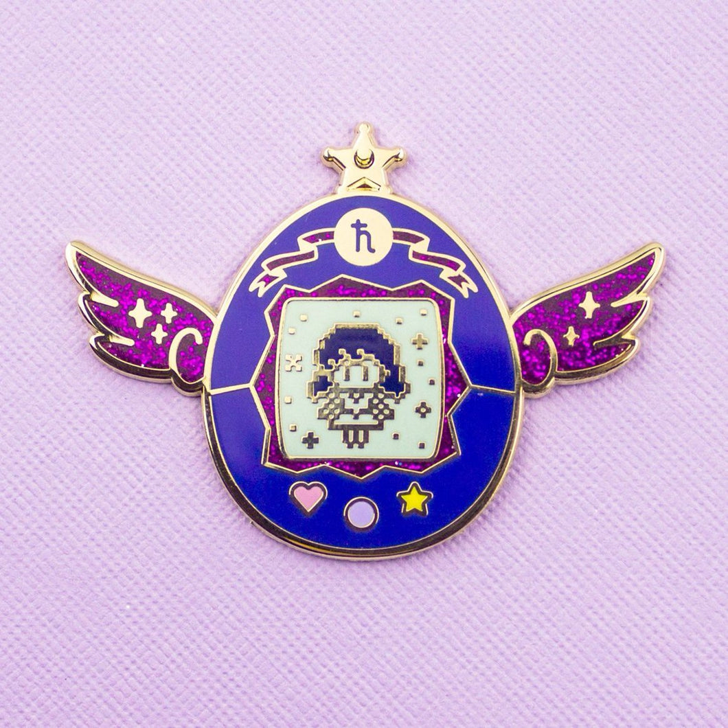 Sailor Saturn Pet Enamel Pin