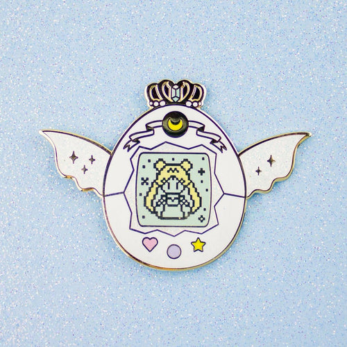 Neo Queen Serenity Pet Enamel Pin
