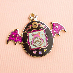 Black Lady Pet Enamel Pin