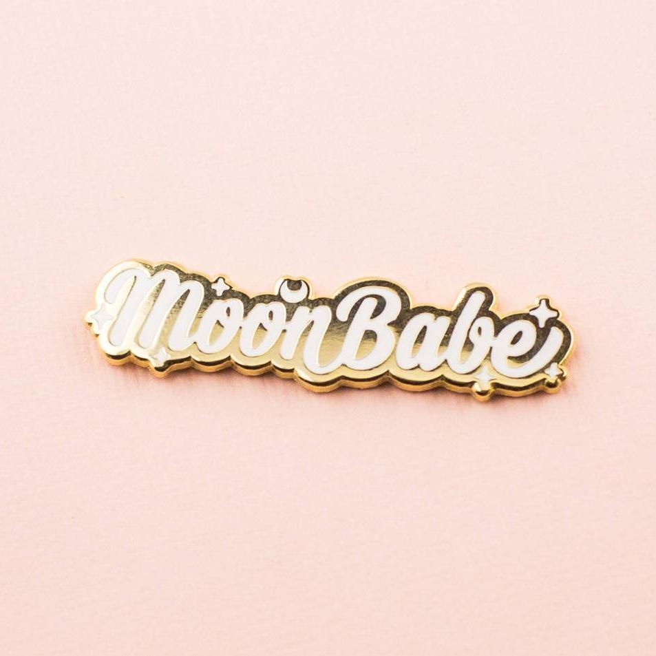 Moon Babe Enamel Pin