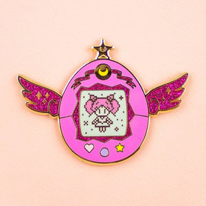 Sailor Chibi Moon Pet Enamel Pin