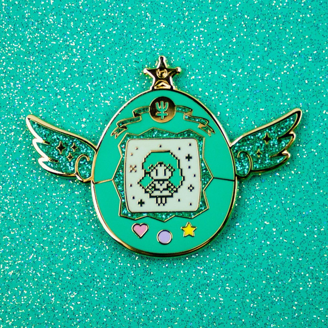 Sailor Neptune Pet Enamel Pin
