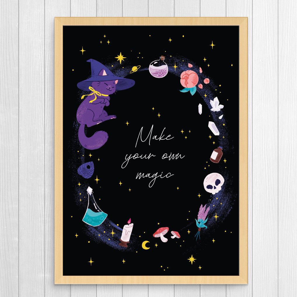 Make your own magic 5x7 Giclee Print