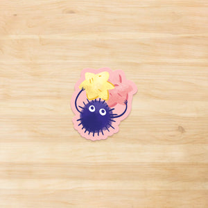Catbus and Soot Sprite Vinyl Sticker Set