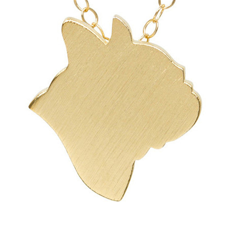 Gold/Silver French Bulldog Necklaces