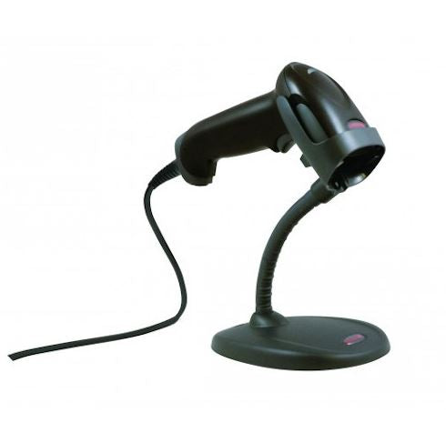 HONEYWELL, 1250G, USB KIT, 1D, BLACK SCANNER, STAND AND USB CABLE