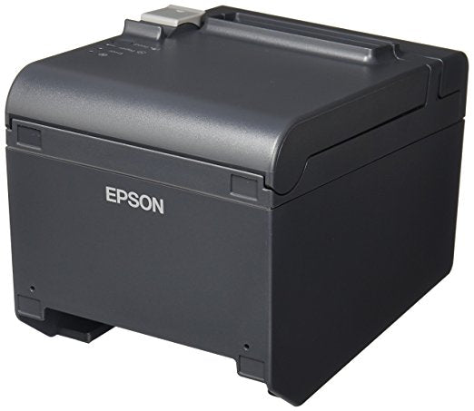 EPSON, TM-T20III, THERMAL RECEIPT PRINTER, BLACK, USB & SERIAL INTERFACES, POWER SUPPLY, AND USB CABLE INCLUDED, C31CH51001