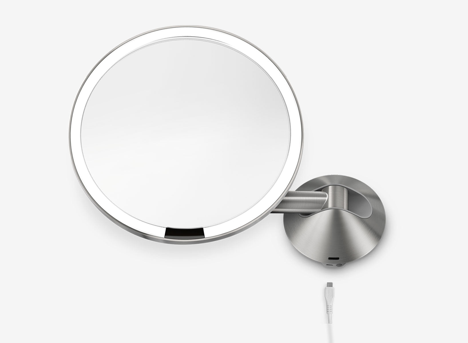 rechargeable sensor mirror